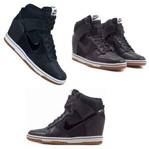 NIKE Dunk Sky Hi Sneaker Women's Size 10 Black